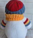 knitted snowman pattern