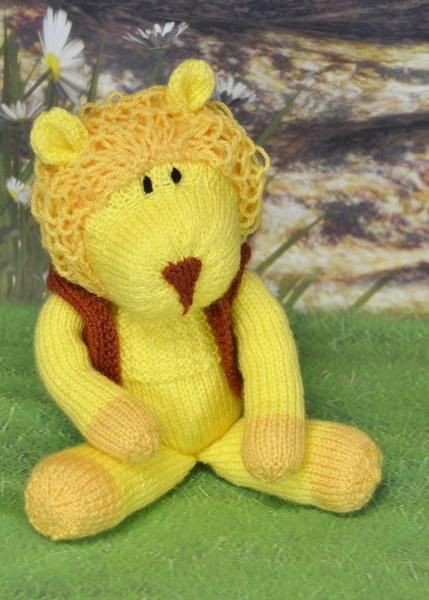 laa la lion knitting pattern