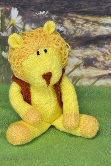 Laa La Lion Knitting By Post