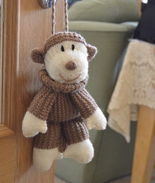 monkey bag knitting pattern