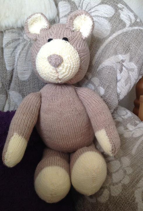 Here is my naked All Bear One, now to get him dressed...