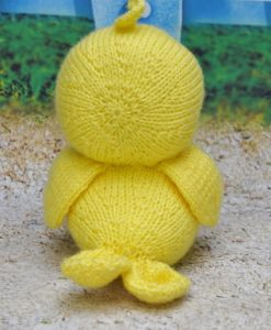 knitted duck pattern