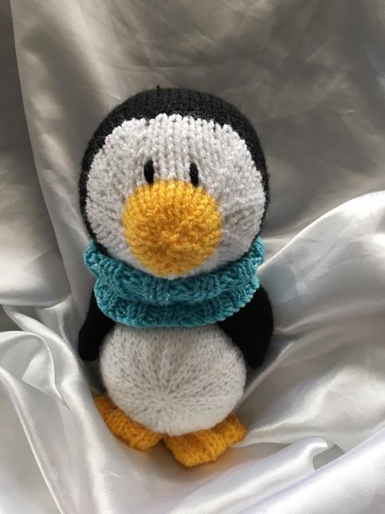 Made my first Penguin for our daughters 16th Birthday today she loves Penguins