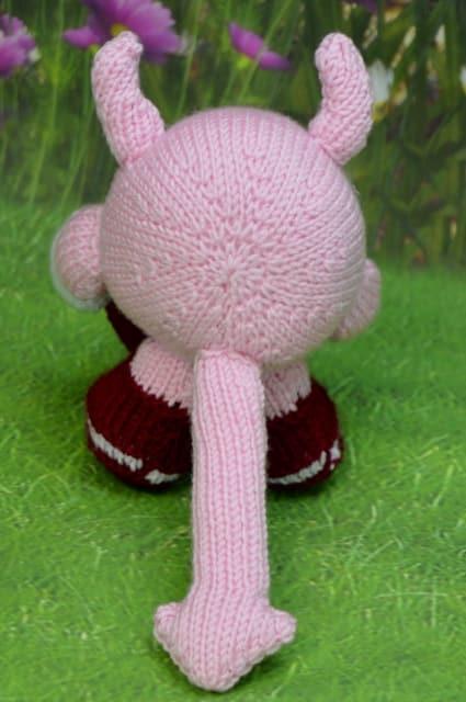 devil knitting pattern