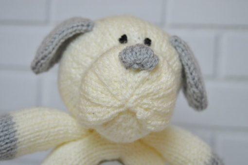 dog egg knitting pattern