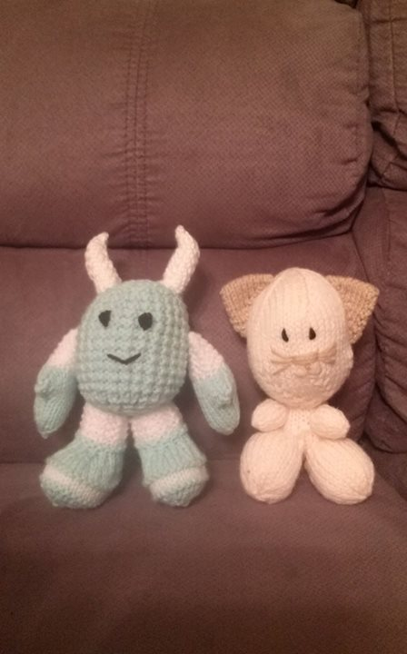 Just finished these two. They were fun to do.