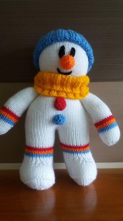 Starting my Christmas knitting.