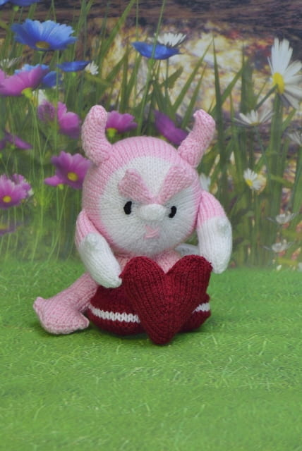 valentines knitting pattern