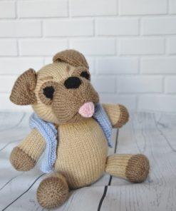 Pug Knitting Pattern - Knitting by Post
