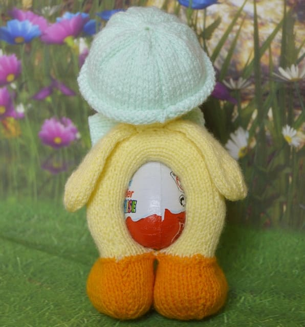 Danny The Chocolate Egg Duck Knitting By Post