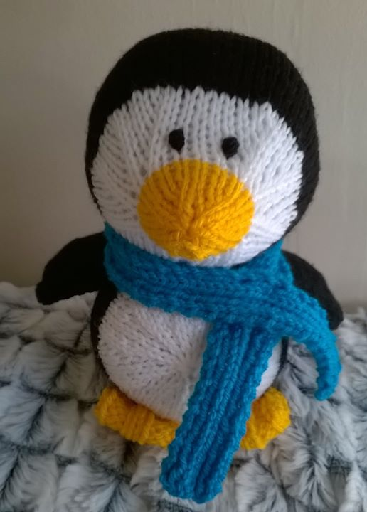 Got round to sewing my little penguin up