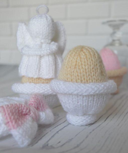 knitted easter egg