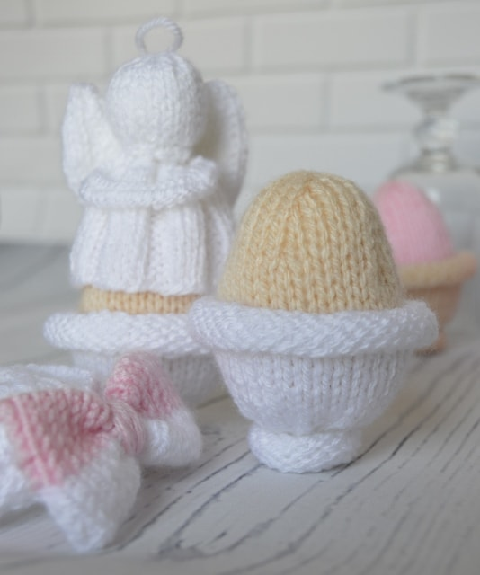 Knitted Egg Collection – Knitting by Post