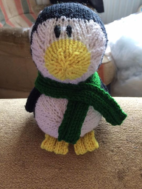 My first penguin so cute x