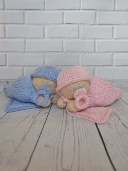 napping baby pattern