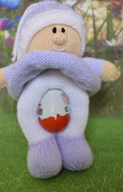easter egg knitting pattern