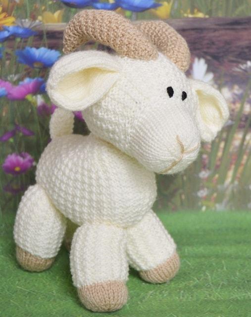 goat knitting pattern