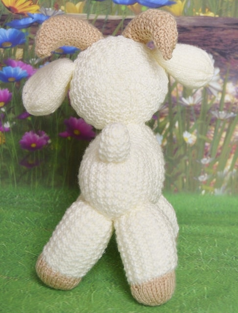 knitted goat