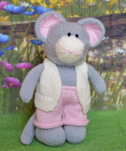 mouse knitting pattern