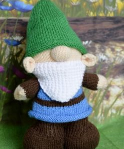 Gnorman Gnome Knitting Pattern