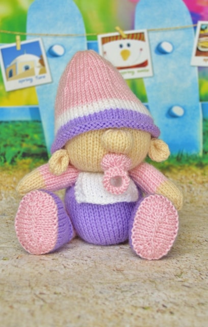 baby gnome knitting pattern