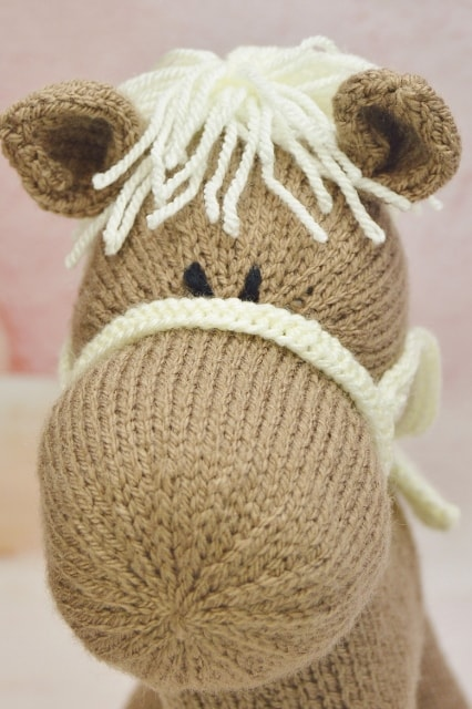 horse toy knitting pattern knitting by post