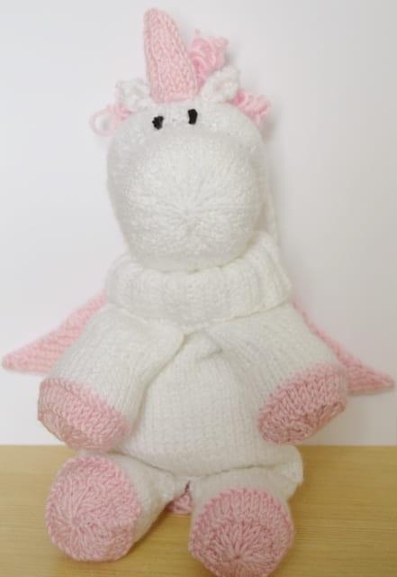 knitting pattern unicorn