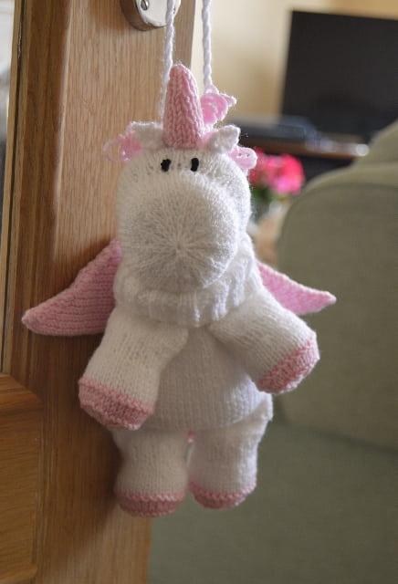 Unicorn Baggles Gift Bag Knitting By Post