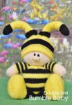 KBP-265 - bumble baby Knitting Pattern Knitted Soft Toy