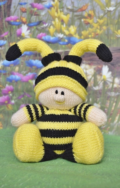 bee knitting pattern