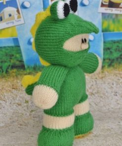 reptile knitting pattern