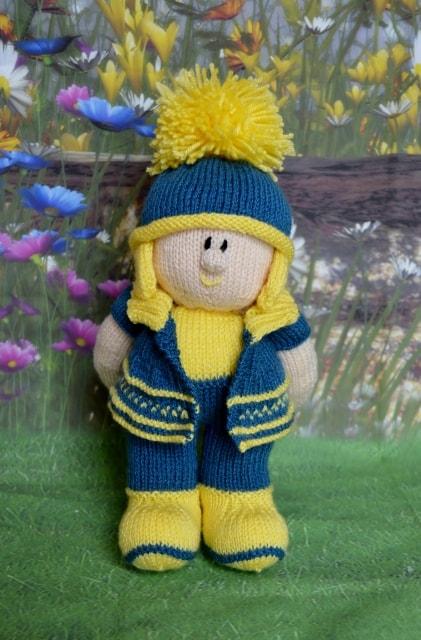 Billy Doll Knitting Pattern