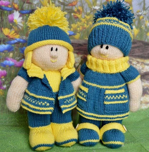Dolls knitting pattern