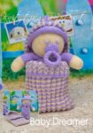 KBP-258 - Baby Dreamer Knitting Pattern Knitted Soft Toy
