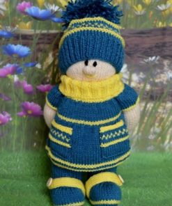 Lilly Doll Knitting Pattern