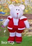 KBP-276 - Bear Hugs Knitting Pattern Knitted Soft Toy