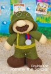 KBP-281 - Tommy the Soldier Knitting Pattern Knitted Soft Toy