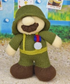 soldier knitting pattern