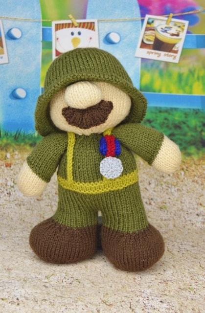 soldier knitting pattern