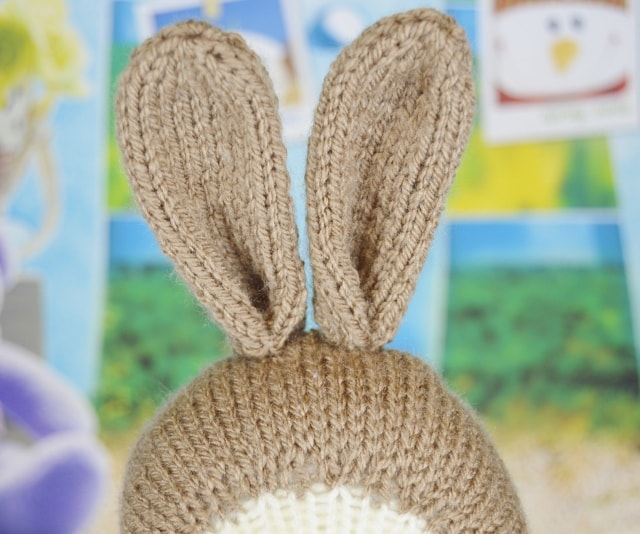 Bertie the Bunny • Knitting by Post