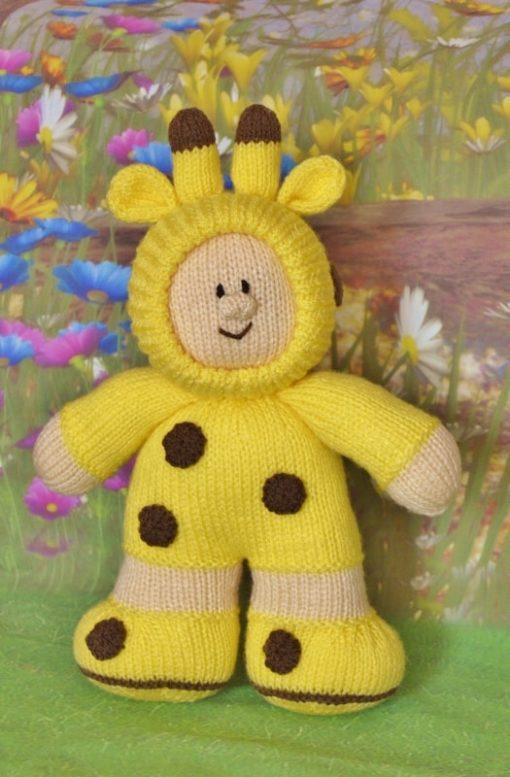 giraffe boy knitting pattern