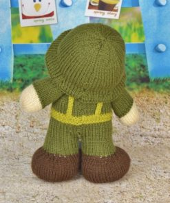 knitted soldier pattern