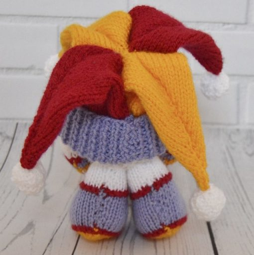 knitted snowball