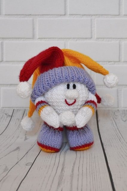 snowball knitting pattern