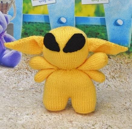 alien knitting pattern