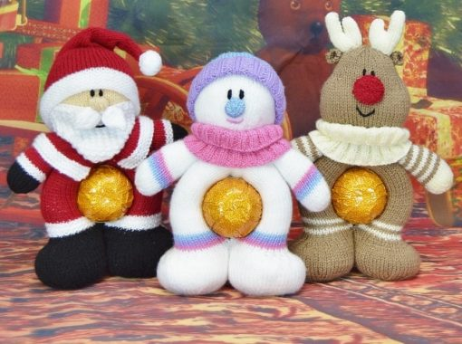 Christmas knitted gifts