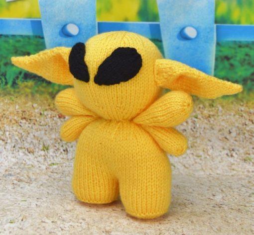 cosmos the alien knitting pattern