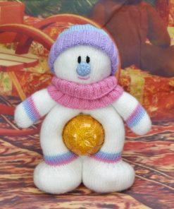 snowman chocolate orange cover