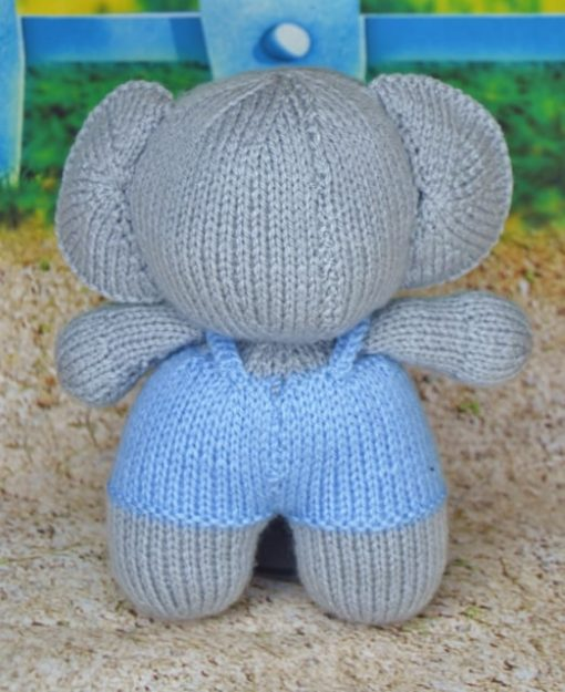 knitted koala pattern