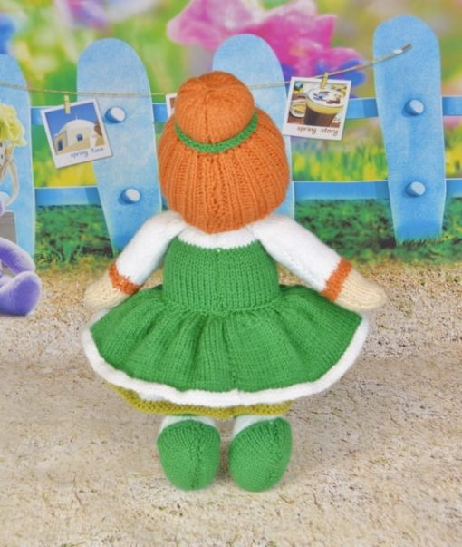 knitted irish dancing girl